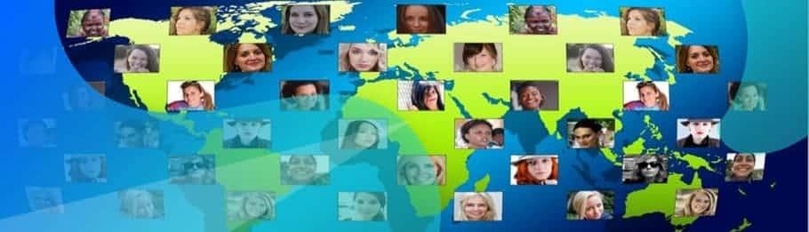 internationale sociale media marketing-foto