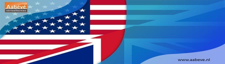 brits en amerikaans engels-afbeelding