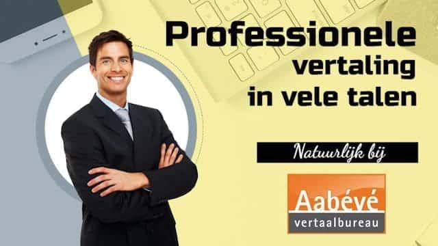 Video professionele vertaling